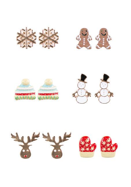 Ladies' Holiday Stud Earrings