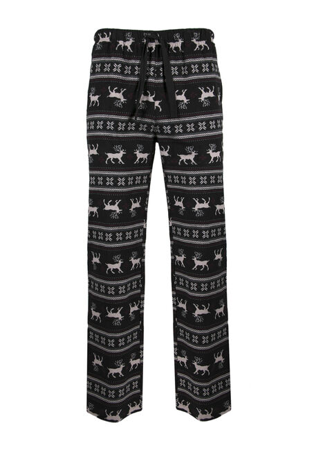 Men's Reindeer Flannel Lounge Pant