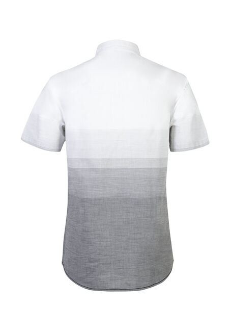 Men's Ombre Shirt, CHARCOAL, hi-res