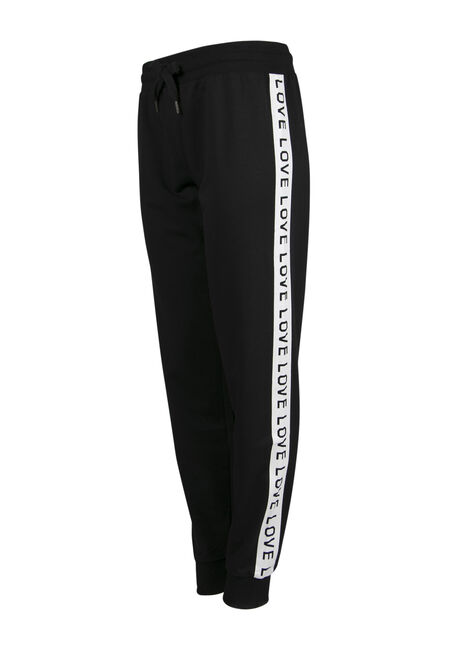 Ladies' Love Jogger, BLACK, hi-res