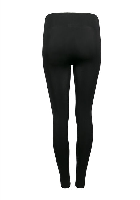 Ladies' Ripped Seamless Legging, BLACK, hi-res