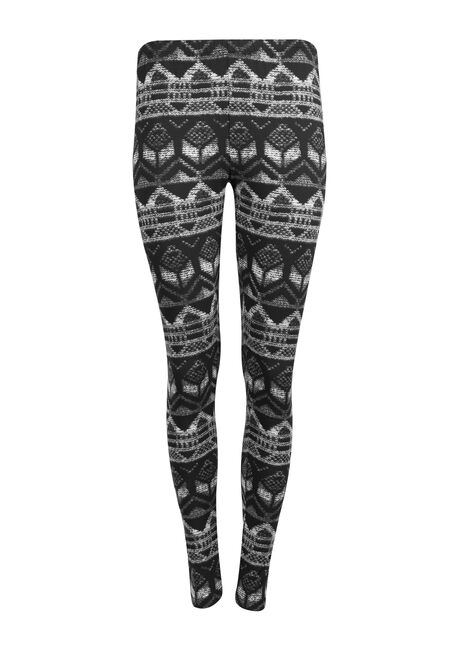 Ladies' Nordic Legging, CHARCOAL, hi-res