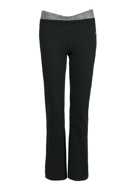 Ladies' Yoga Pant, BLACK, hi-res