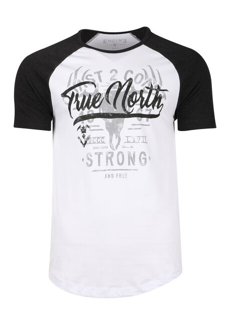 Men's True North Baseball Tee