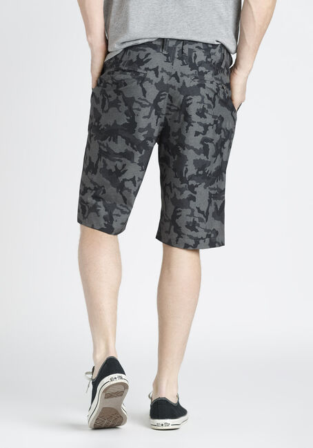 Men's Camo Hybrid Short, GREY, hi-res