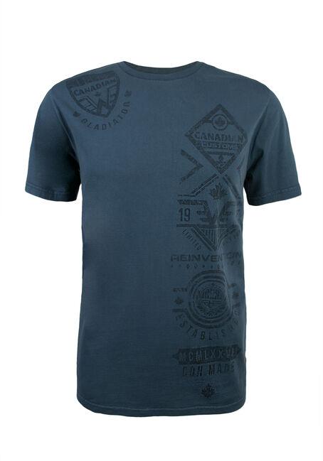 Men's Reinvention Graphic Tee, BLUE, hi-res