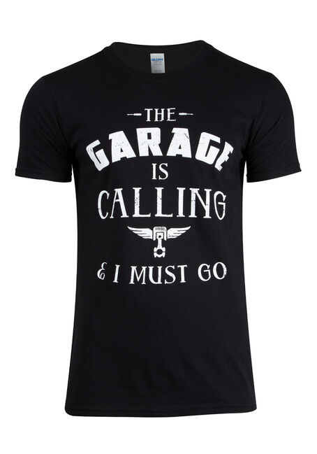 Men's Garage Is Calling Tee