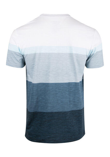Men's Everyday Stripe Tee, NAVY, hi-res