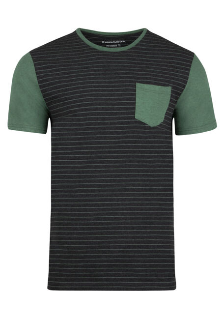 Men's Everyday Contrast Pocket Tee