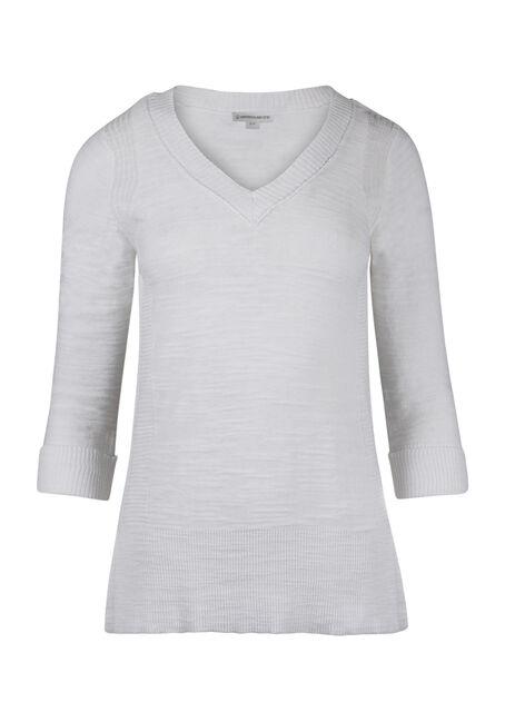 Ladies' V-neck Sweater