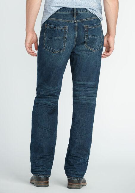 Men's Relaxed Straight Dark Indigo Jeans, DARK VINTAGE WASH, hi-res