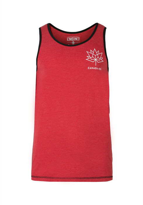 Men's Canada 150 Tank, RED, hi-res
