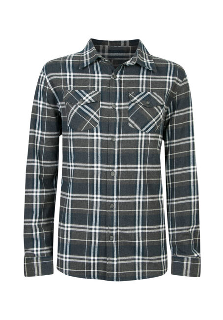 Men's Brushed Flannel Shirt