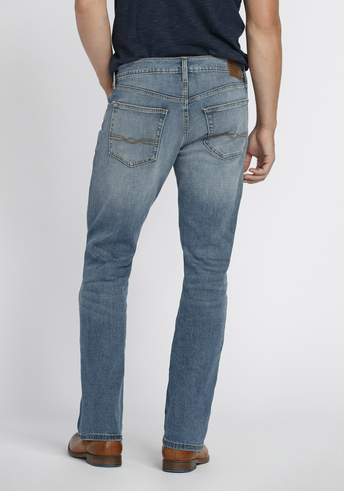 Mid Rise Classic Straight Jeans in 360 Stretch   Gap® UK