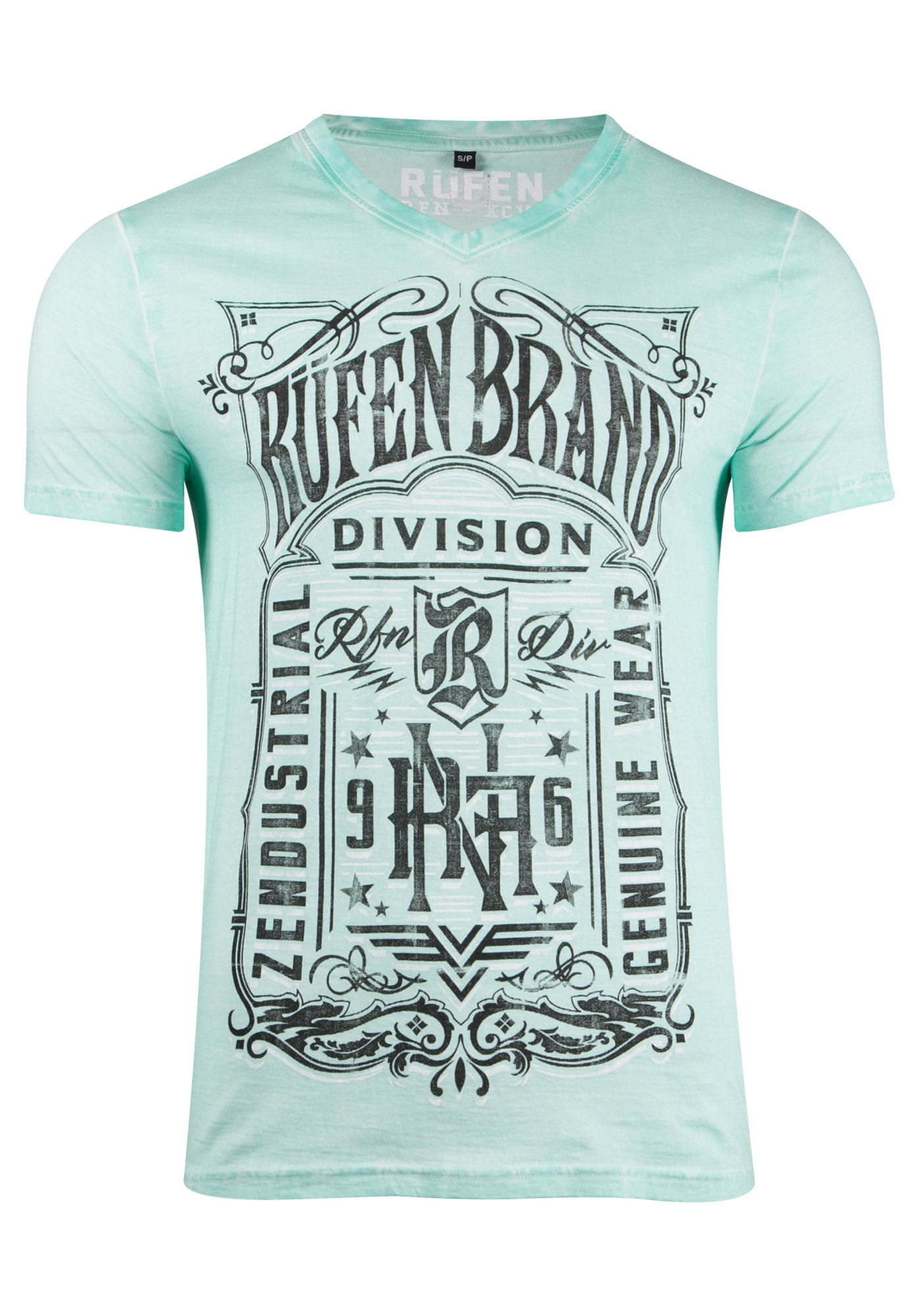 Men's Western Graphic Tee, SPEARMINT, hi-res