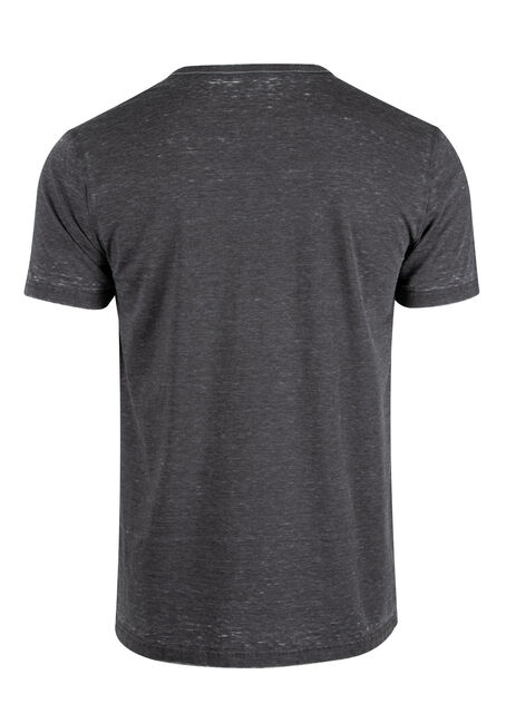 Men's Everyday Split V-Neck Tee, DARK SHADOW, hi-res