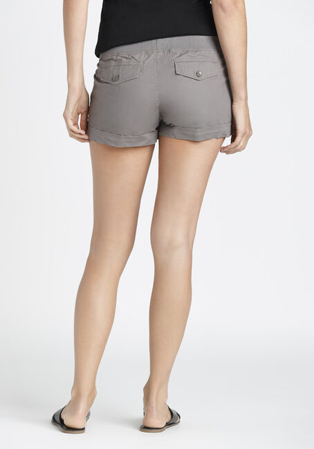 Ladies' Cargo Not-So-Short Short, TAUPE, hi-res