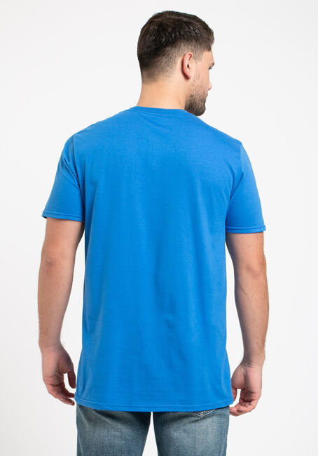 Men's My Wife Gives Sound Advice Tee, ROYAL BLUE, hi-res