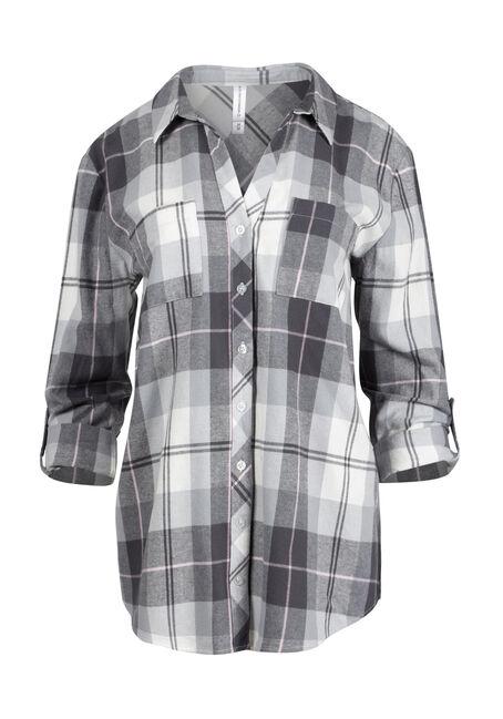Ladies' Flannel Boyfriend Shirt