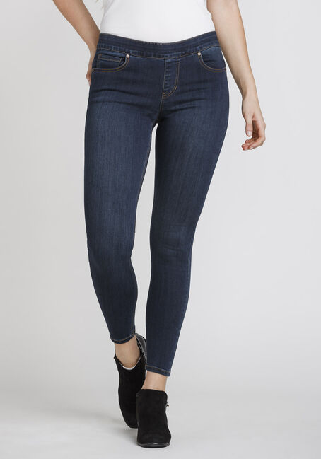 Women's Pull On Push Up Jeans