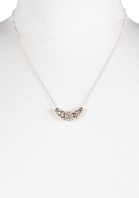 Women's Fireball Necklace, ROSE GOLD, hi-res