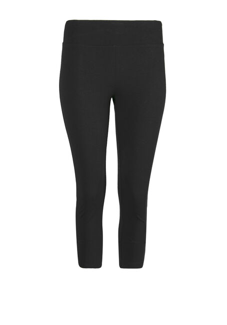 Women's Wide Waistband Capri Legging