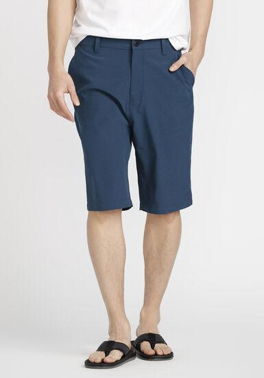 Men's Mini Stripe Hybrid Short, BLUE, hi-res