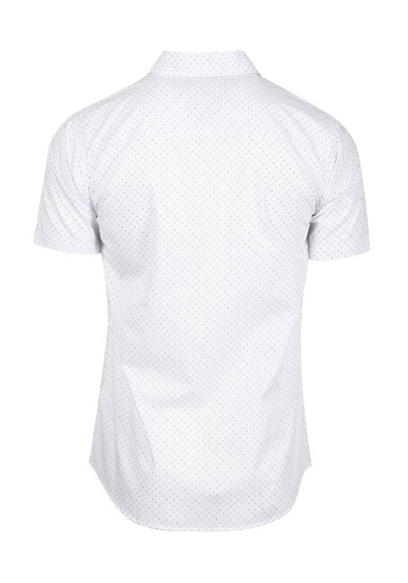 Men's Mini X Print Shirt, WHITE, hi-res
