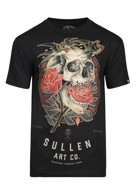 Men's Sullen Skull Graphic Tee