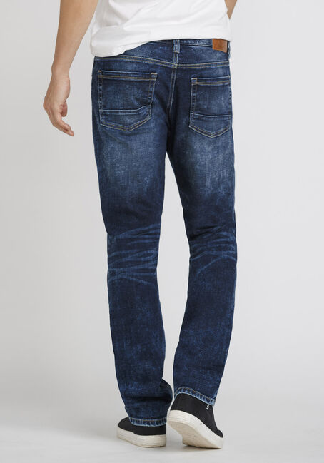 Men's Medium Wash Slim Fit Jeans, MEDIUM WASH, hi-res