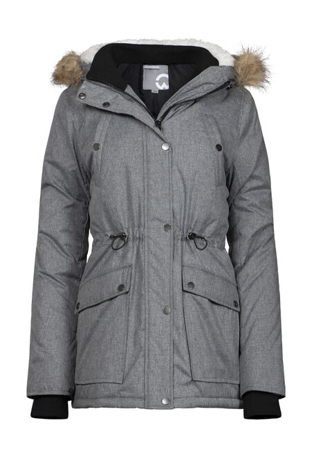 Women's Fur Trim Parka