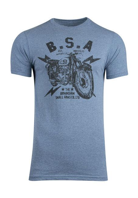 Men's BSA Motorcycle Graphic Tee