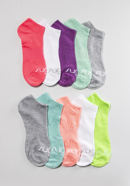 Women's Sugar 10 Pack Ankle Socks