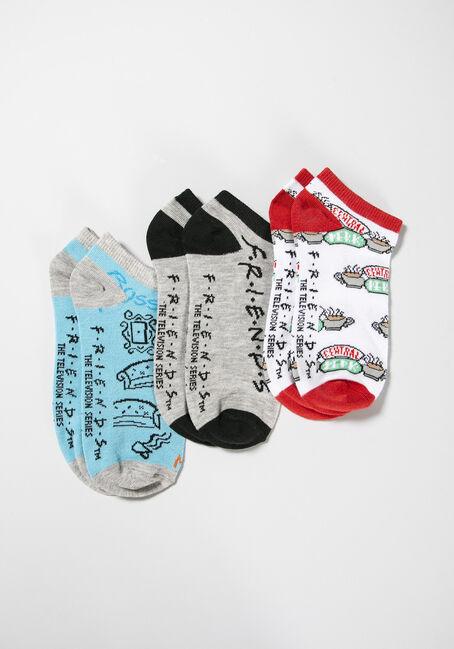Women's 3 Pair Friends Socks