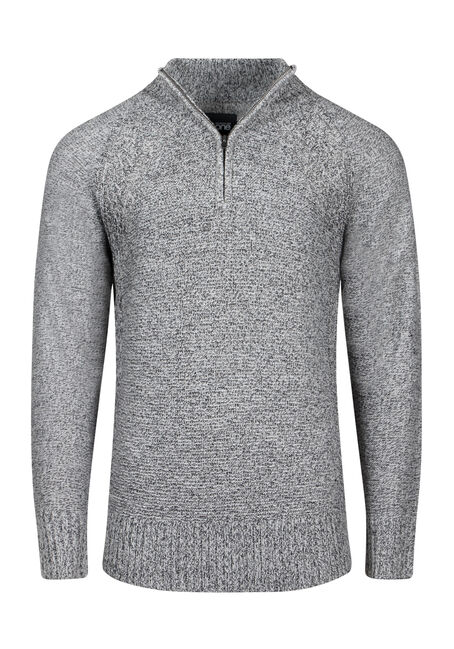 Men's Quarter Zip Sweater