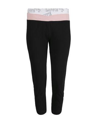Ladies' Love Capri Legging, BLACK, hi-res