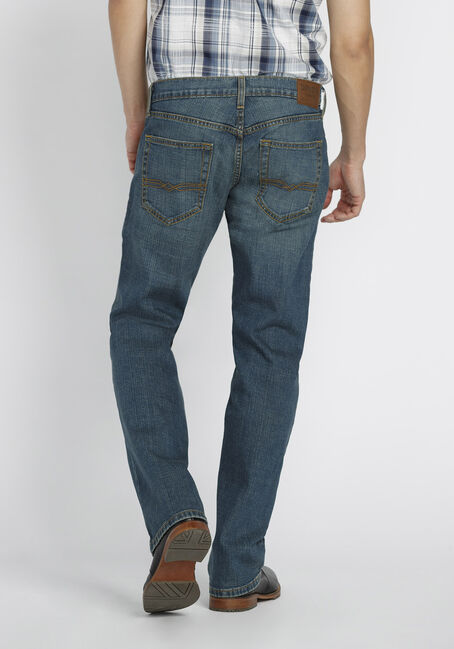 Men's Relaxed Fit Jeans, MEDIUM WASH, hi-res