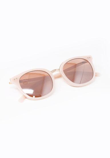 Women's Wayfarer Sunglasses, PINK, hi-res