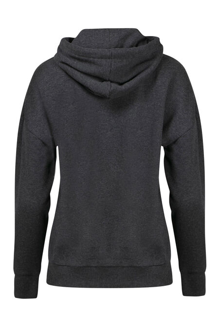 Women's Home Hoodie, CHARCOAL, hi-res