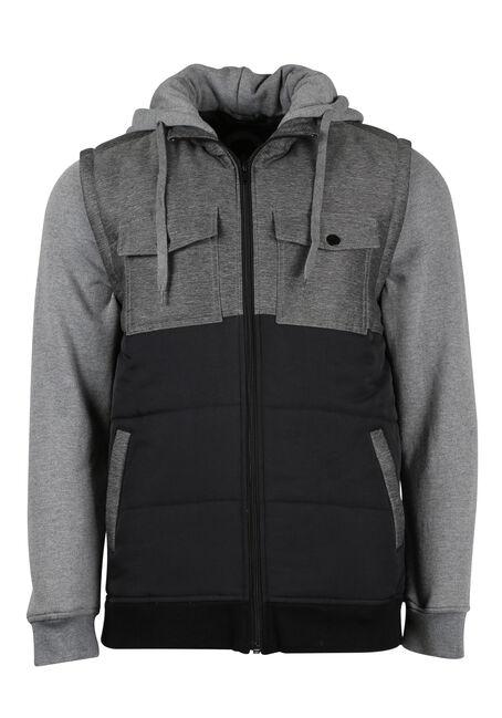 Men's Fleece Sleeve Vest