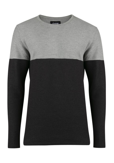 Men's Rib Knit Top