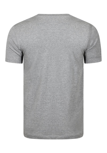 Men's Everyday Crew Neck Tee, GREY, hi-res