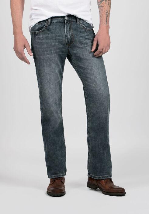 Men's Straight Leg Medium Vintage Jeans, MEDIUM WASH, hi-res