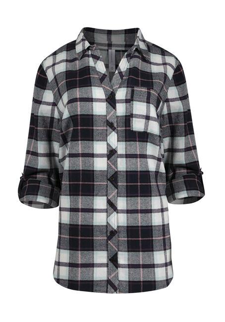 Women's Flannel Boyfriend Shirt