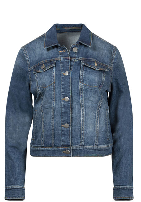 Women's Dark Wash Jean Jacket