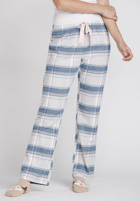 Women's Plaid Flannel Lounge Pant