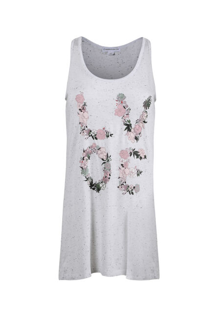Ladies' Floral Love Tank
