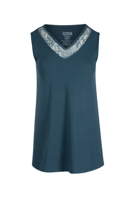 Ladies' Lace Trim Tank