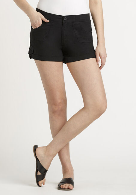 Women's Poplin Cuffed Short