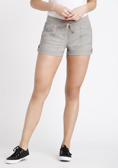 Women's Cargo Shortie, TAUPE, hi-res